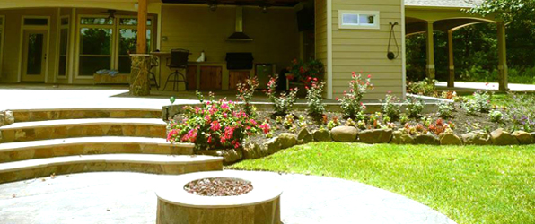 Houston Landscape Design Installation