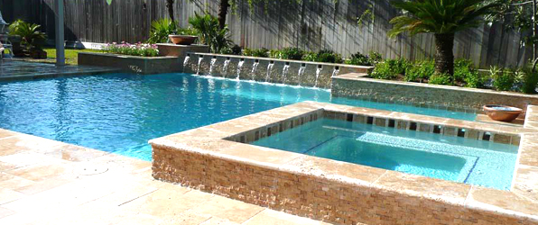 Houston pool builders pool design for Custom pool builder