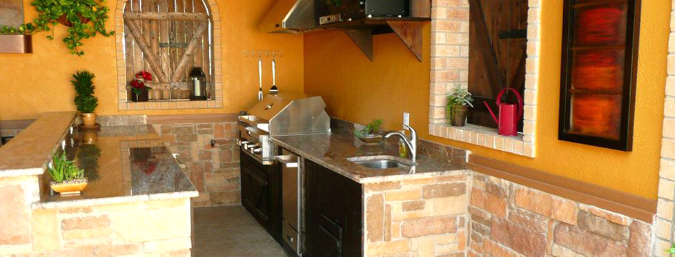 Houston outdoor kitchens