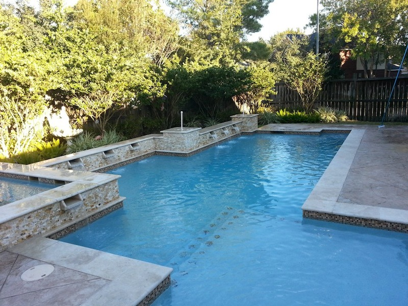 Houston pool design gallery for Custom swimming pool designs