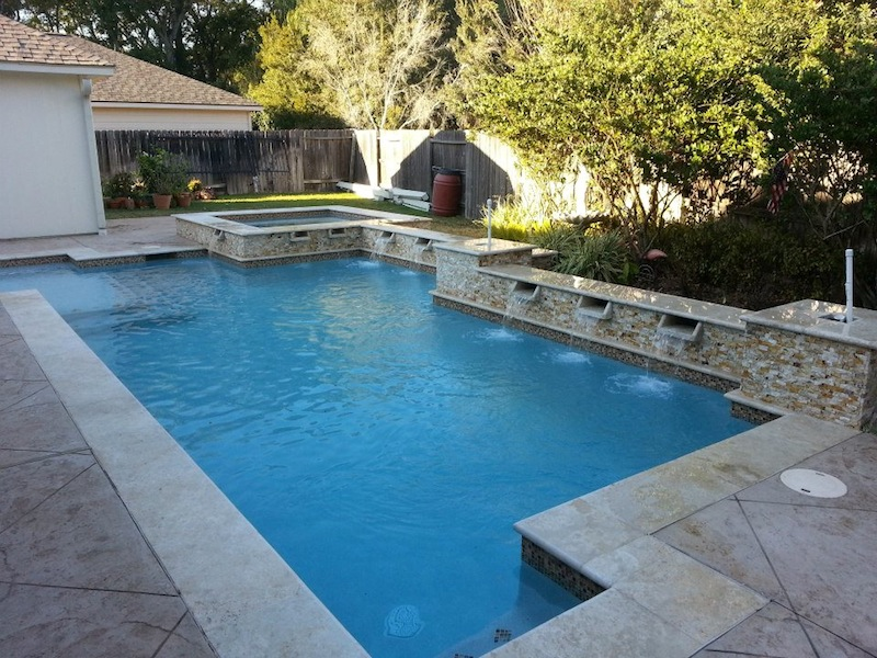 Pools U0026 Spas | Expression Custom Pools | Cypress, ...